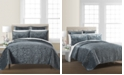 Martha Stewart Collection Velvet Flourish Twin Quilt, Created for Macy's